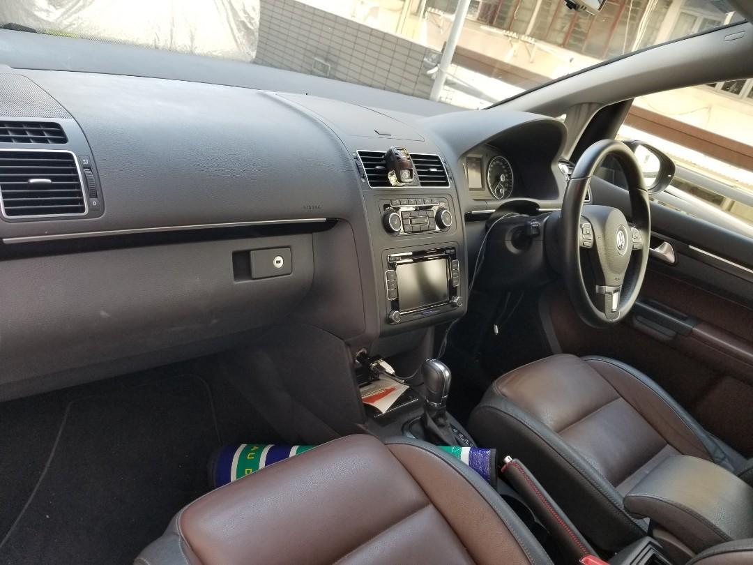 VOLKSWAGEN TOURAN GT 2012 170PS