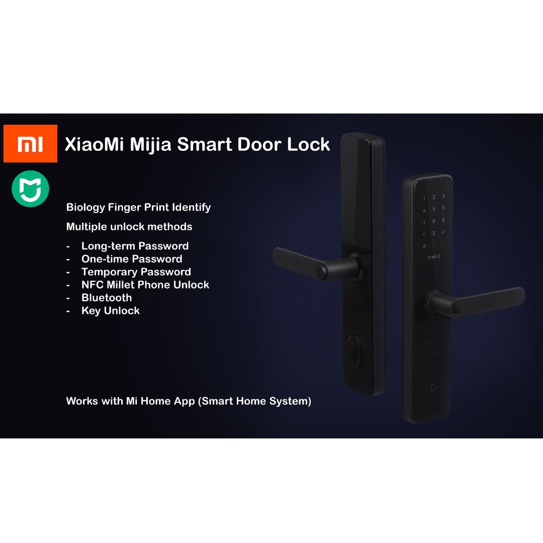 Xiaomi Mijia Smart Door Lock 2019