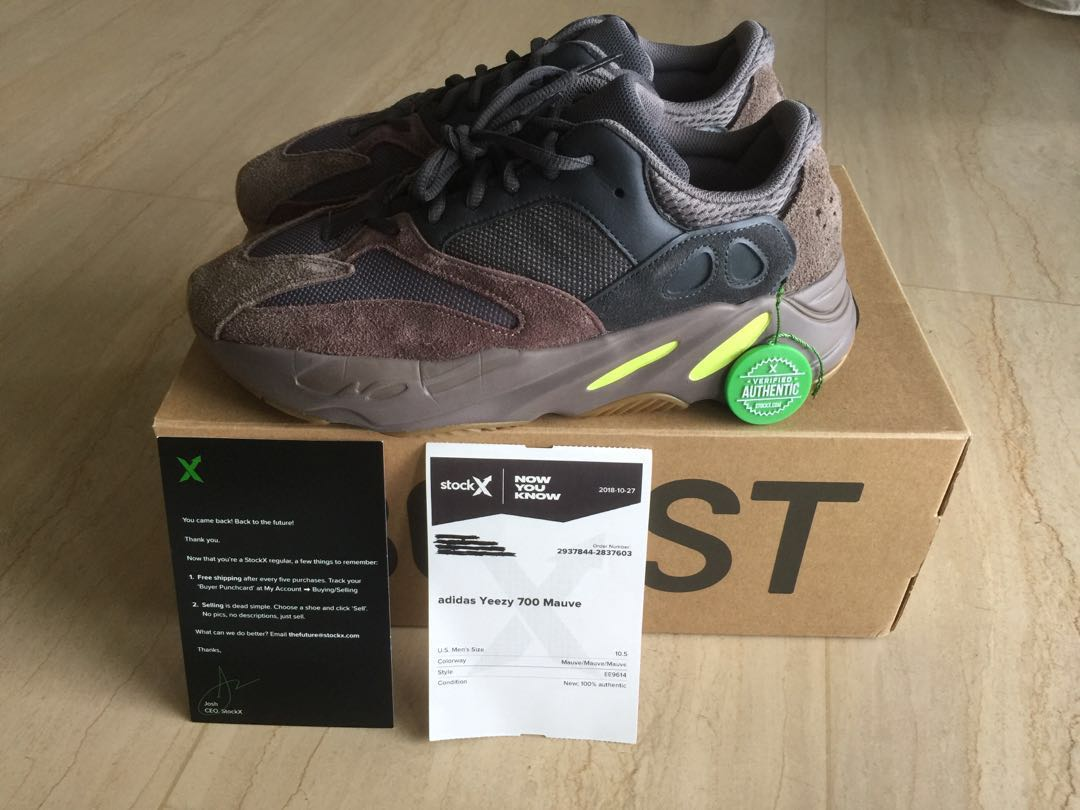 sports shoes 9e7fb 1d5ad Yeezy Boost 700 Mauve