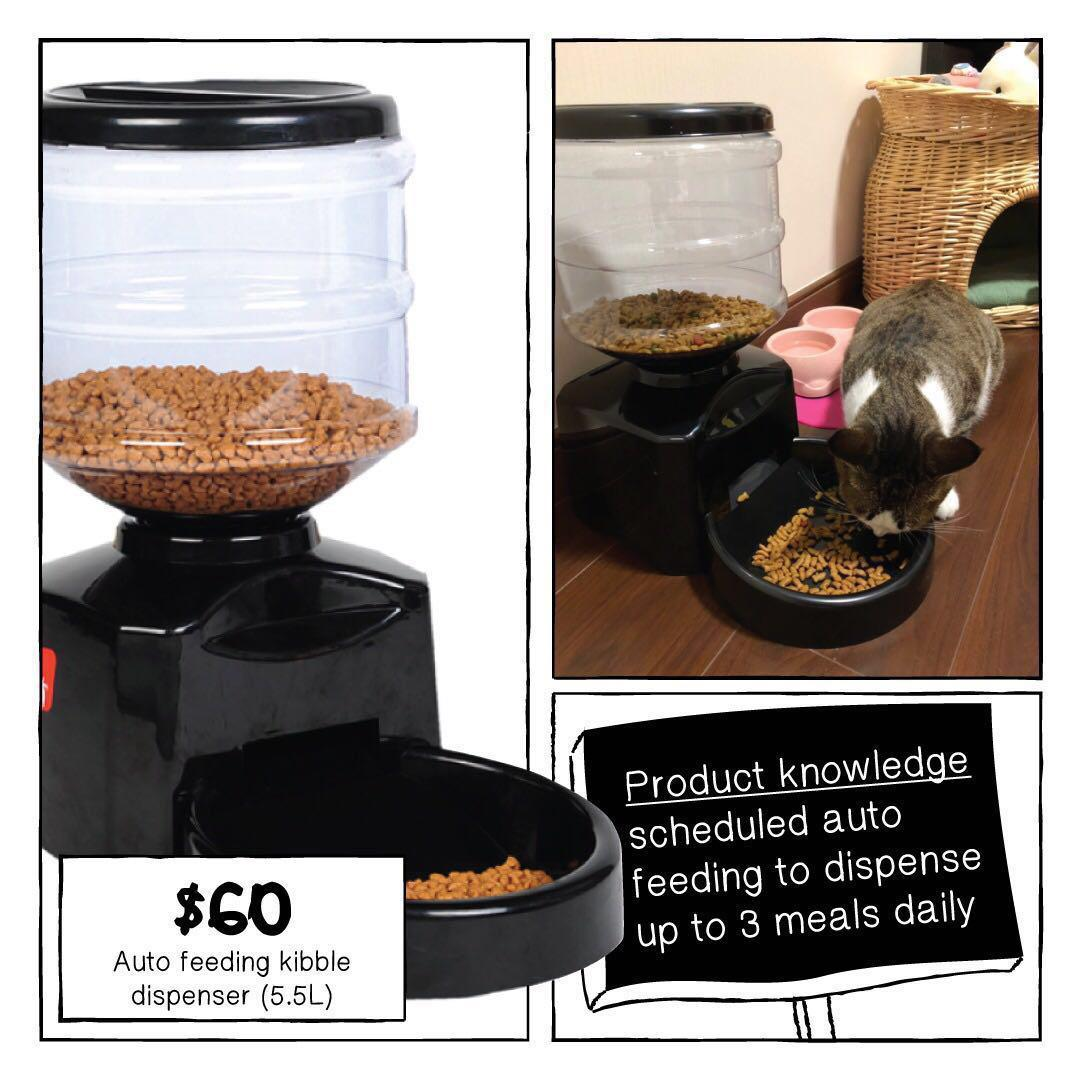 You will need this 😁 Auto Feeding Gadgets for Cat and Dog