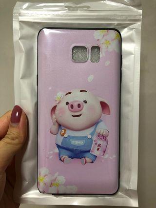 🚚 Samsung Note 5 猪小屁 soft casing