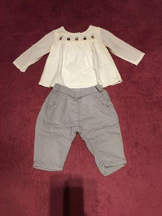 Baby clothes 0-3 months 嬰兒衣服