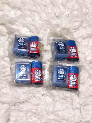 Doraemon Doreamon Sharpener and Eraser