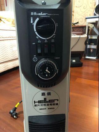 嘉儀十二葉片暖氣機