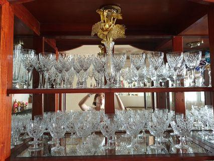 Crystal sherry /whisky glasses