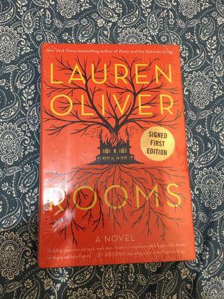 Rooms by Lauren Oliver (Signed First Edition)