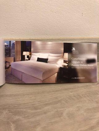 🚚 Marriott Singapore weekend stay