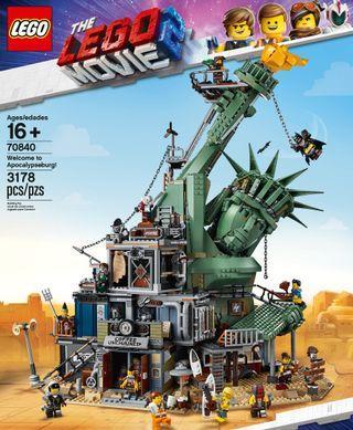 Lego Movie 2 Welcome to Apocalypseburg 70840