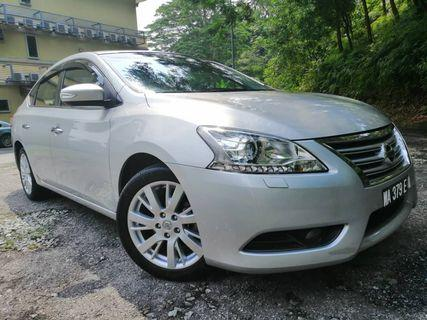 2014 NISSAN SYLPHY 1.8 VL-HOUSE WIFE