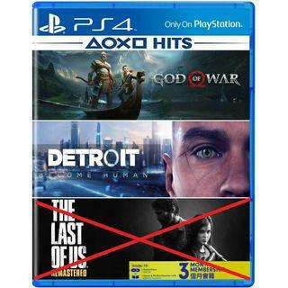【PROMO】PS4 God Of War + Detroit Become Human PHYSICAL