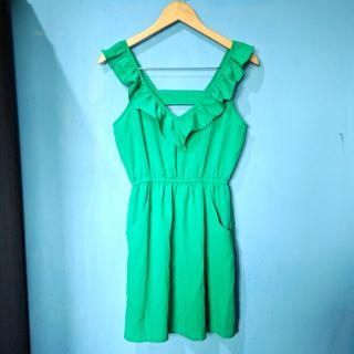 Sexy green dress HARGA PAS NETT FREEONGKIR WAHANA JABODETABEK