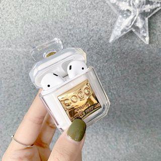 🚚 Airpod Case Coco Perfume Bottle Design