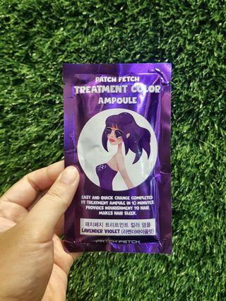 Hair Colour Dye Treatment Ampoule - Lavender Violet Purple