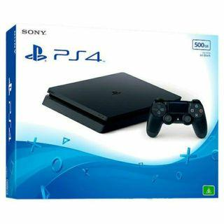 (NEW) SONY Playstation 4 Slim Console [ 500GB ] OFFICIAL MALAYSIA SET