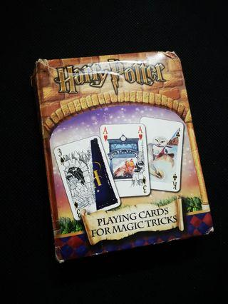 HARRY POTTER Playing Card for Magic Tricks (Vintage)