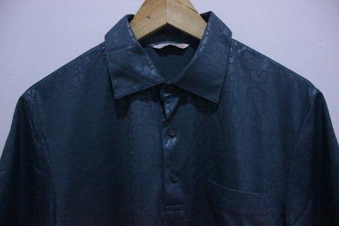 Satin men shirt