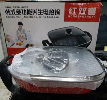 {師奶開倉}大量平價出口貨!韓國多功能養生電熱鍋