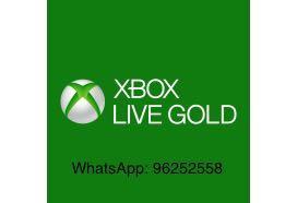 官方正版XBOX 金會員1個月 實體卡25位兌換碼 Xbox Gold Xbox live Xbox one