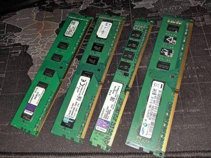 Ram Ddr3 4gb / 8gb 1600mhz valueram