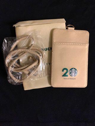 Starbucks 20th Anniversary Card Caddy