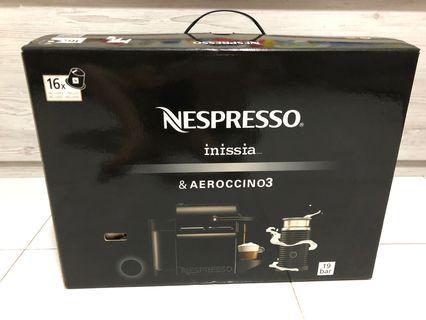 Nespresso Inissia & Aeroccino 3