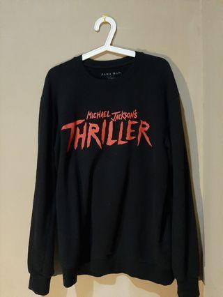 Zara man thriller *michaeljackson* sweatshirt