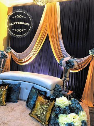 Mini dais / pelamin / wedding decor / nikah / engagement
