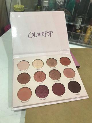 🚚 Colourpop give it to me straight 眼影盤