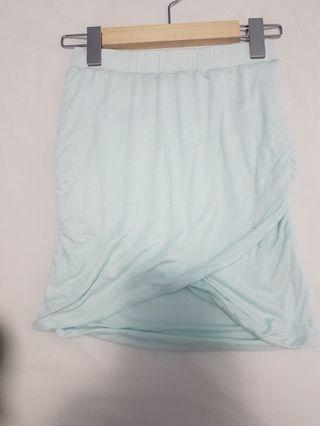 Baby blue skirt