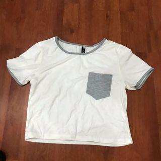 Pocket Grey Top