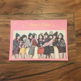 [WTS] Twice merry and happy postcard