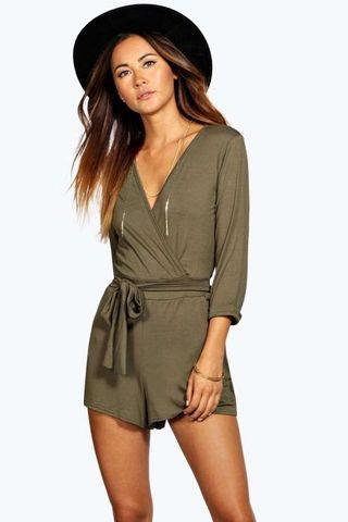 Sophia relaxed fit playsuit