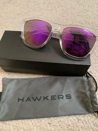Hawkers purple glasses authentic