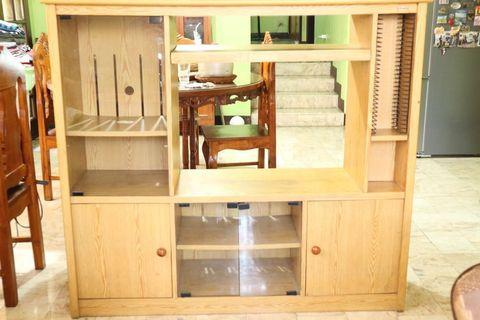 REPRICED: Large TV Console Cabinet