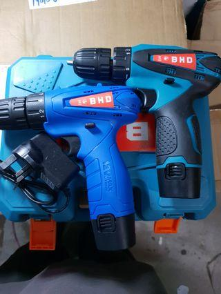 Promotion set while stock last (2unit in set) 12v BHD combo set Cordless Drill