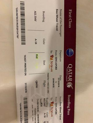 🚚 Kidzania Child Ticket