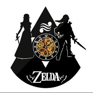 🚚 🌟PM for price🌟 🍀Zelda Design Modern Acrylic Walk Clock🍀