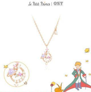 (Po) Korea OST X Little Prince 925 Silver Necklace OTS119604QPP