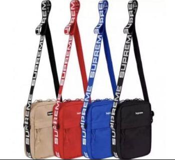 Supreme 44th shoulder bag (black/used)