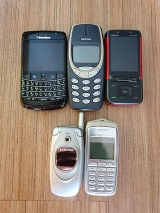 Analog Cell Phone Sets