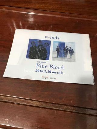 w-inds. 11 Album Blue Blood