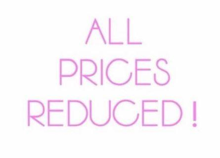 ✨All Prices Reduced!✨
