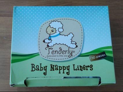 (FREE) Tenderly Baby Nappy Liners