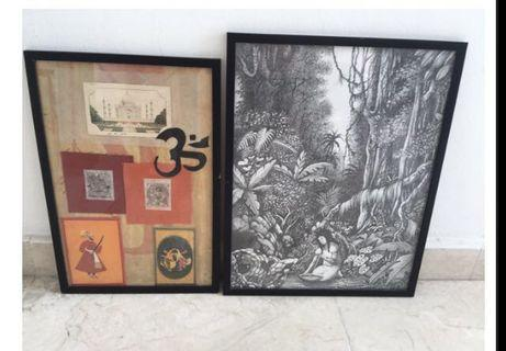Frames and contents