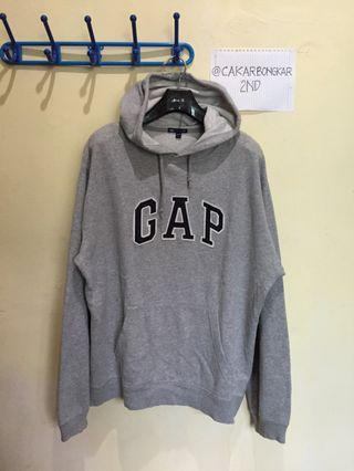 Hoodie GAP Logo - Grey