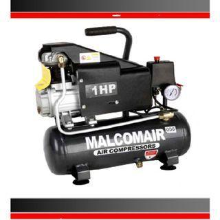 Malcomair MAL-1009 1hp 9L 8Bar Poratble Air Compressor