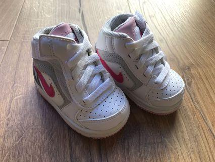 Nike Baby Girl High Tops Size 2