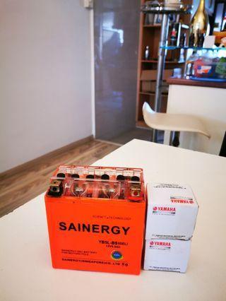 Motorcycle gel battery (Spark 135)