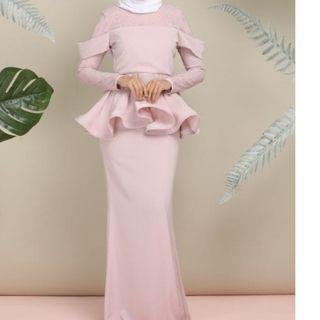 Camellia Empire in Soft Pink