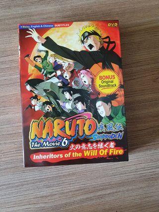 Naruto DVD - The Movie 6